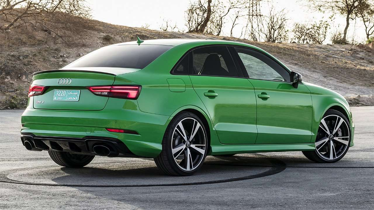 Audi RS3 Sedan сзади