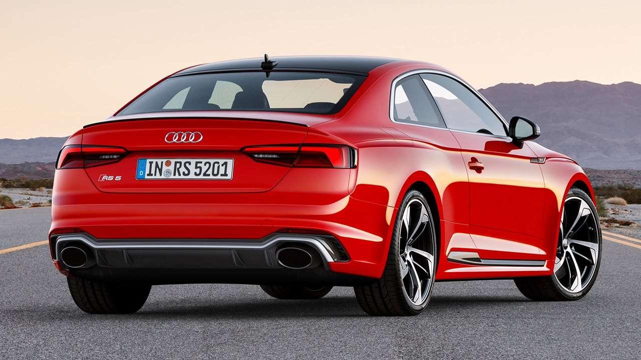 Audi RS5 2020-2021 фото сзади