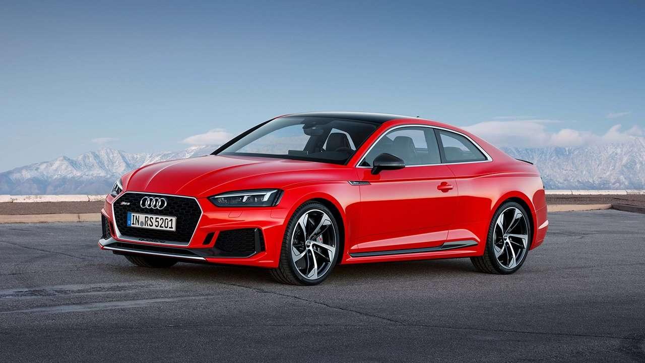 Audi RS5 2020-2021 фото спереди