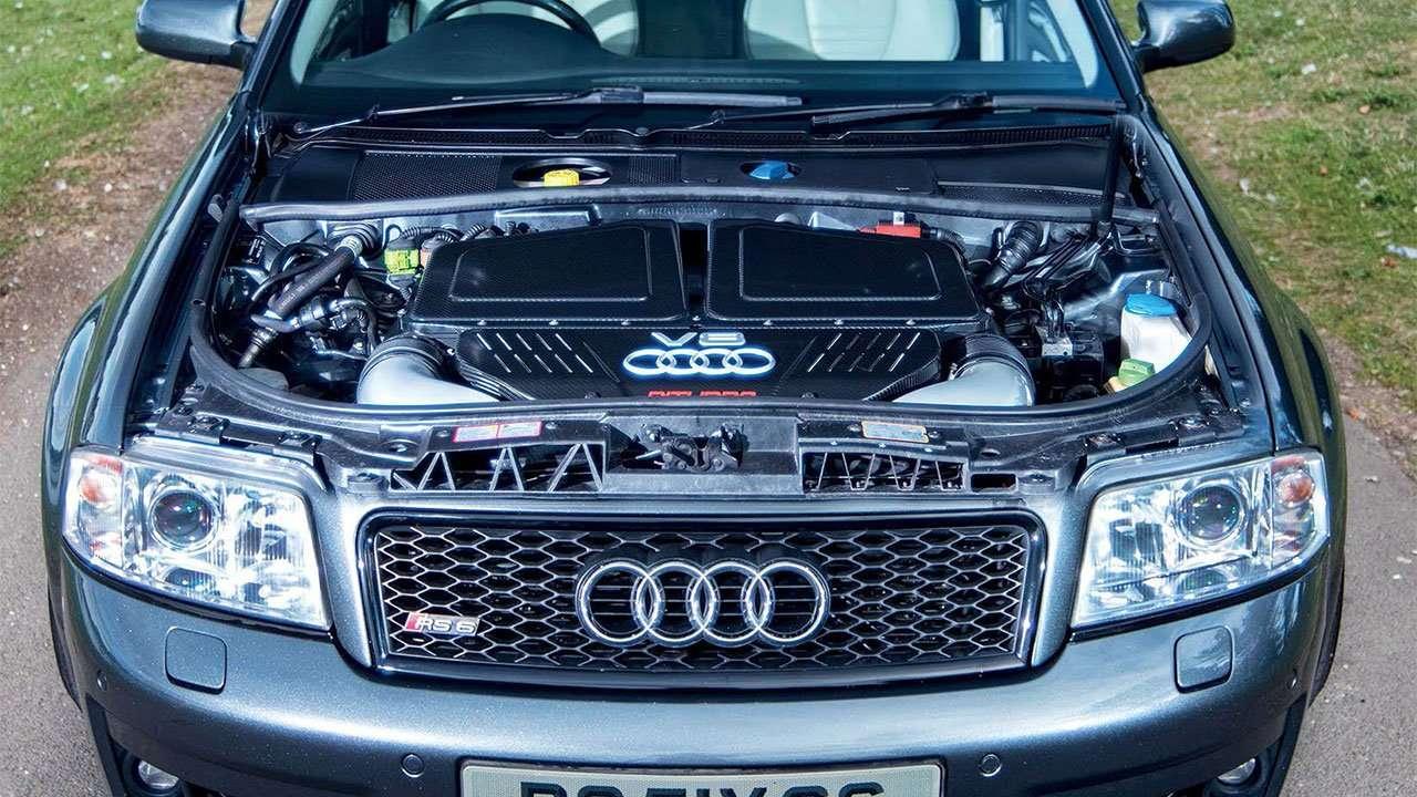 Двигатель Ауди RS6 C5