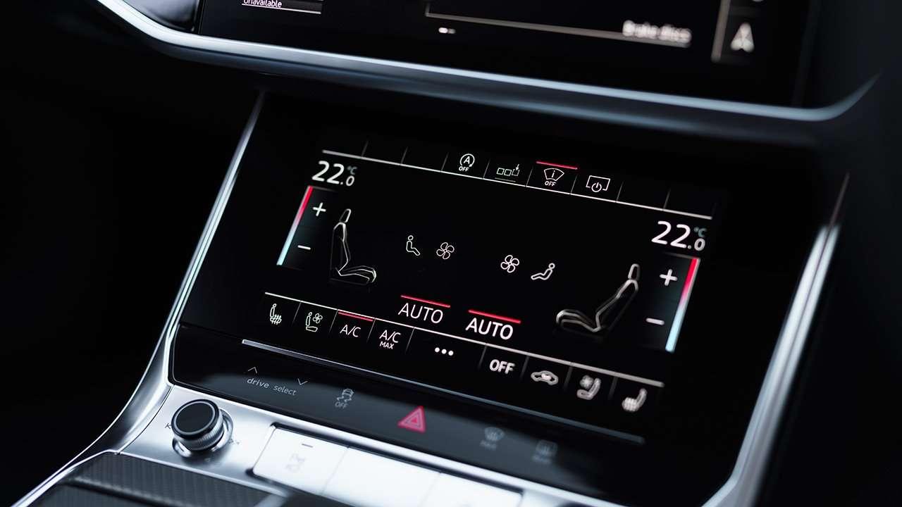 Дисплей климата Audi RS6