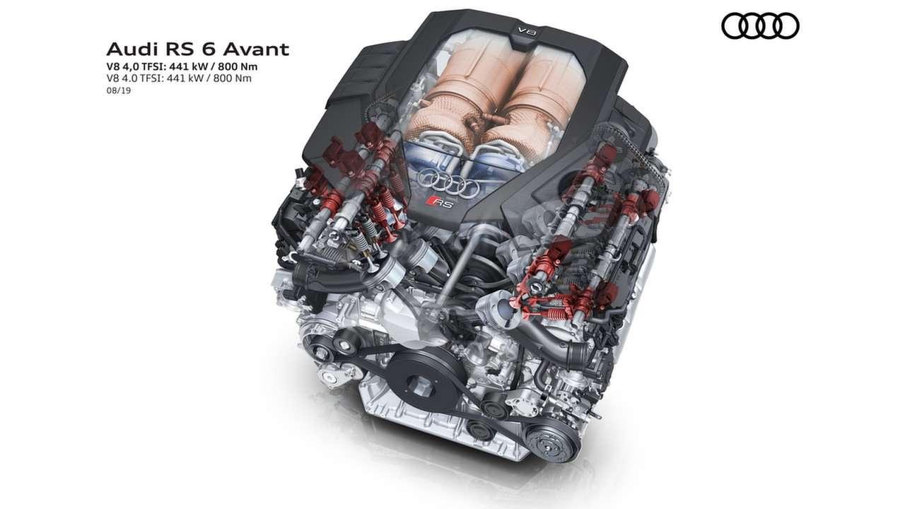Двигатель новой Ауди РС6