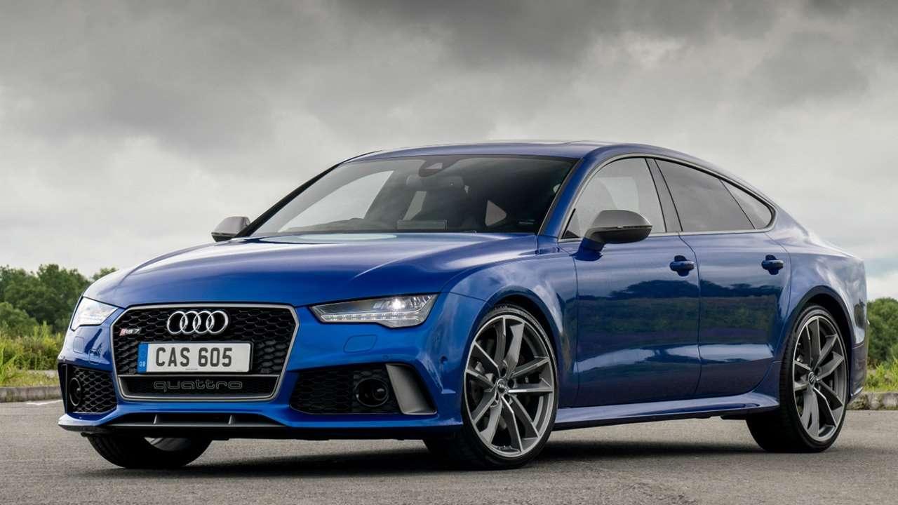 Audi RS7 4G фото спереди