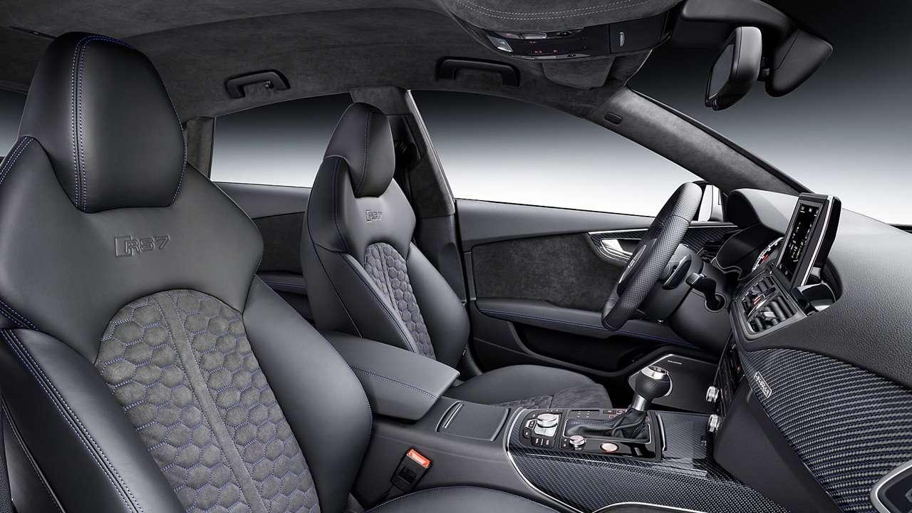 Audi RS7 4G сиденья в салоне