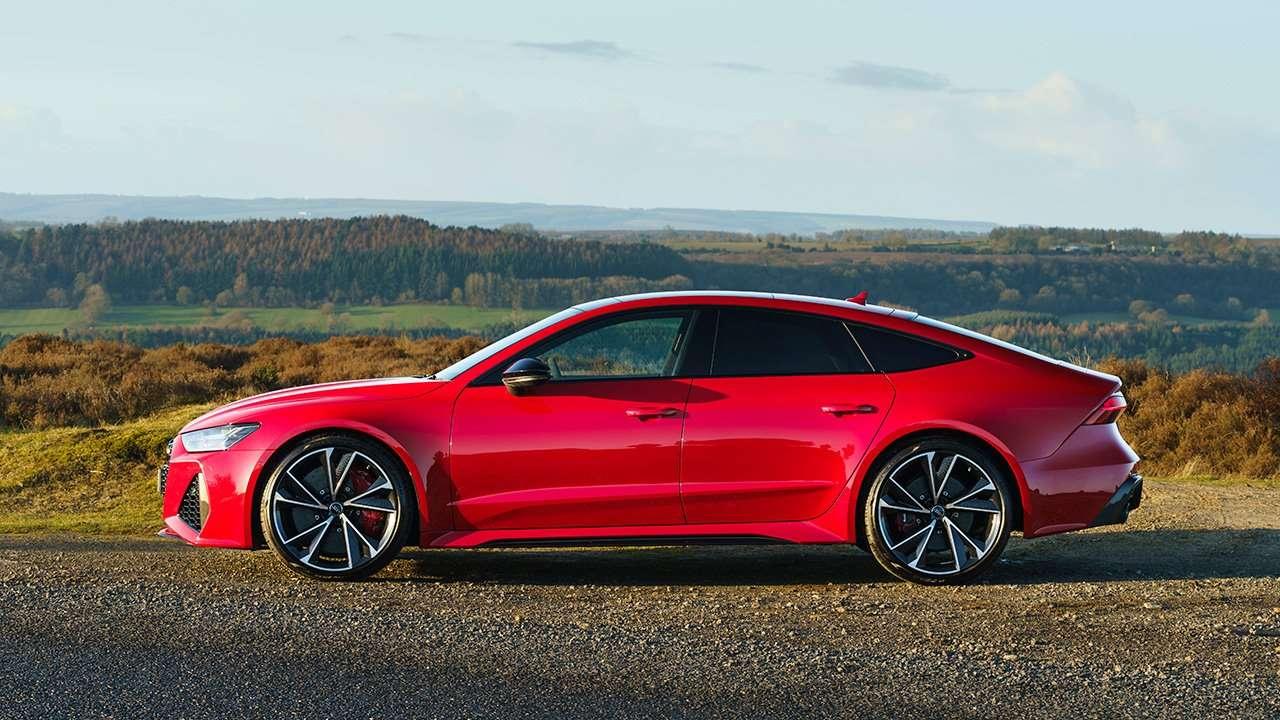 Боковая часть Audi RS7 2020-2021