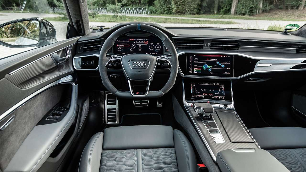 Салон Audi RS7 2020-2021