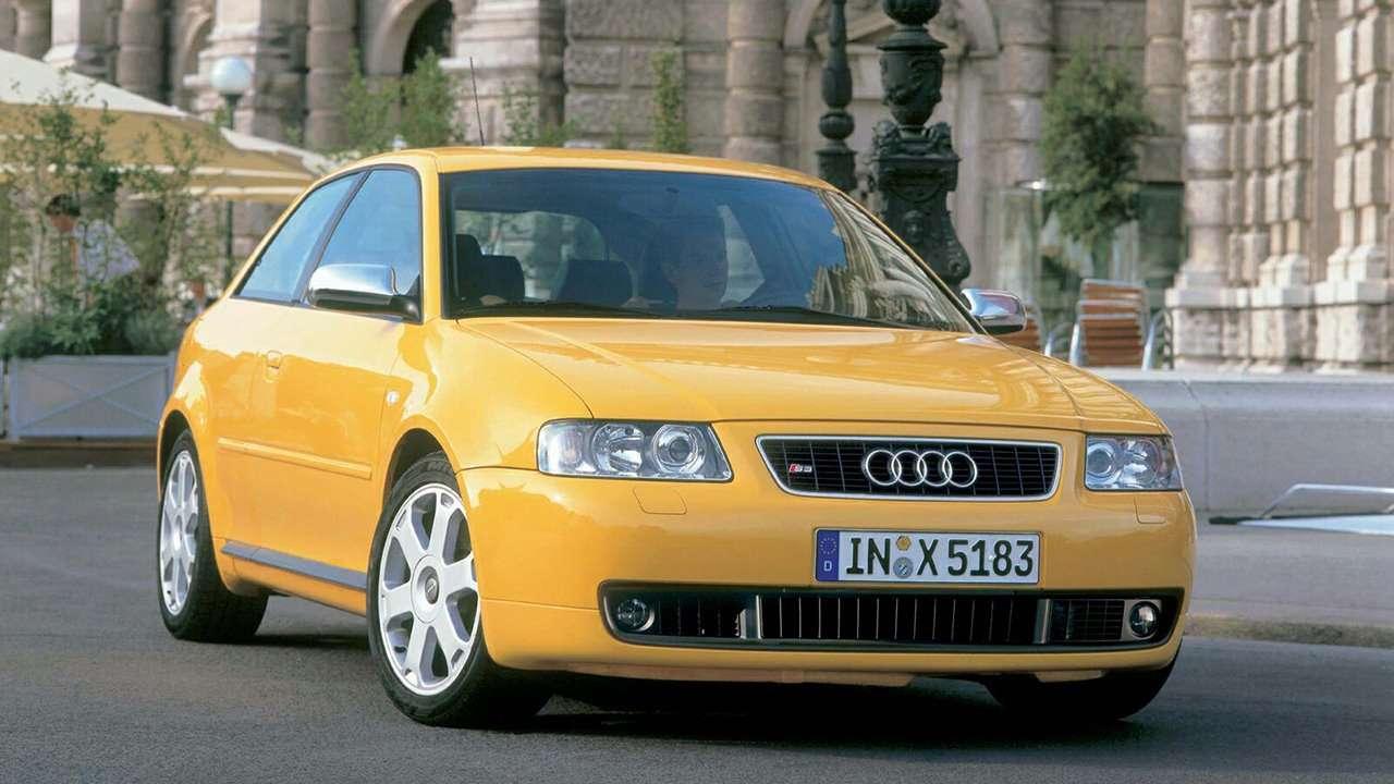 Audi S3 8L фото спереди