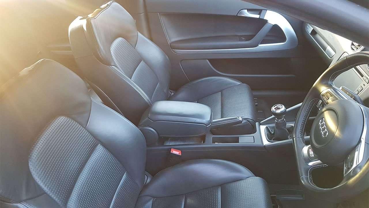Передние сиденья Ауди С3 8П