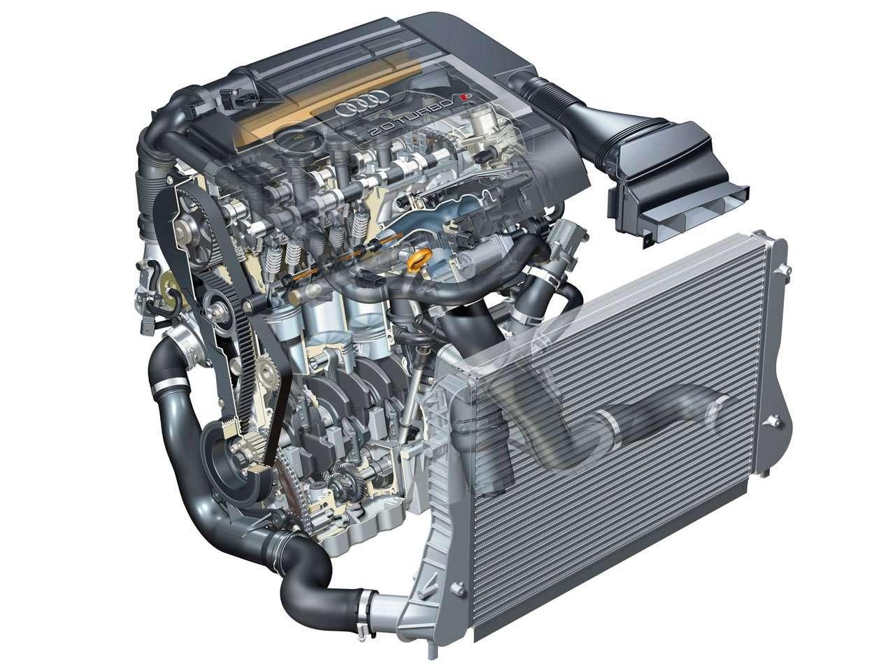 Мотор Audi С3 8P