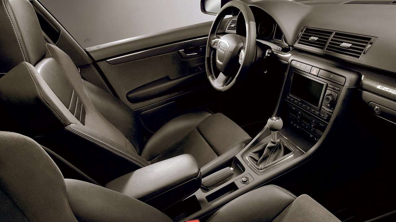 Audi S4 B6 интерьер кабриолета