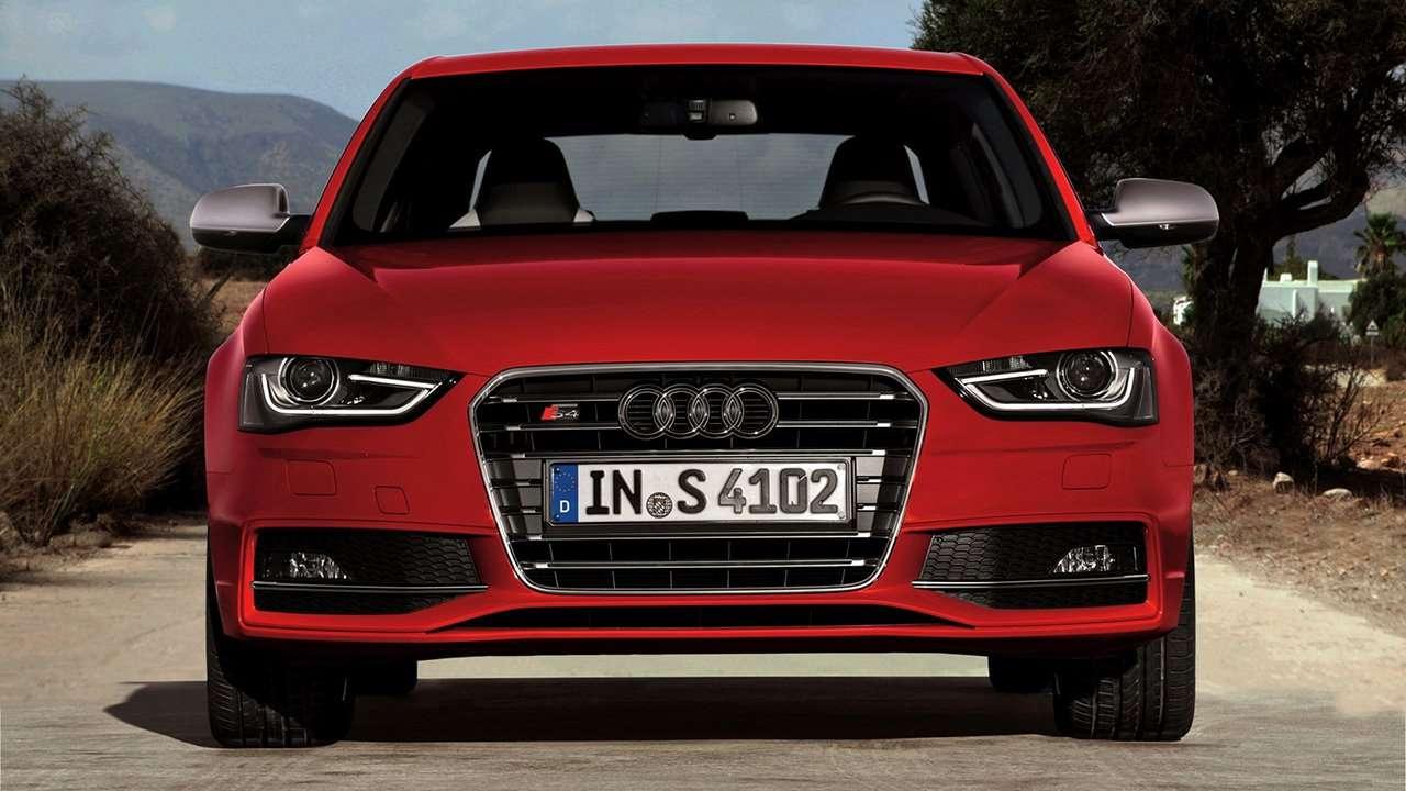 Audi S4 B8 фото морды