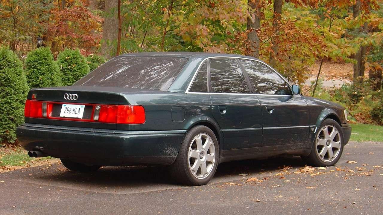 Audi S6 C4 (1994-1997) цена, технические характеристики, фото, видео тест-драйв С6