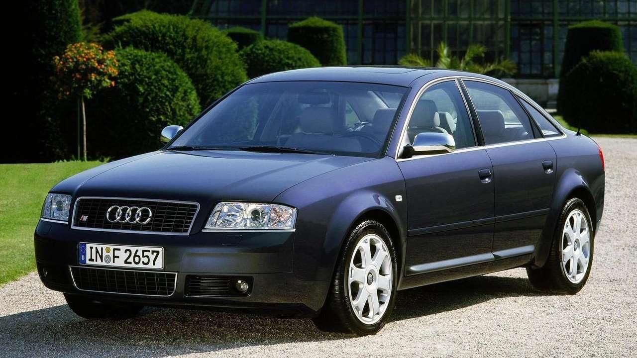 Audi S6 C5 фото спереди