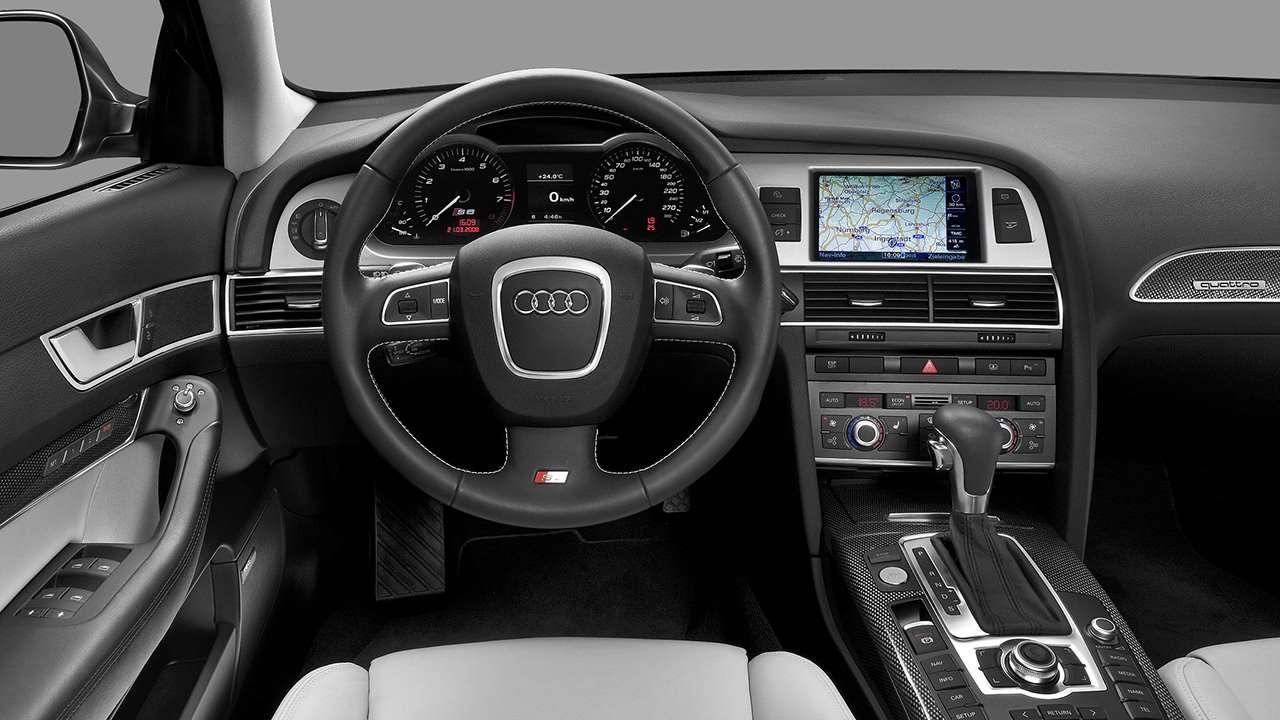 Audi S6 C6 салон