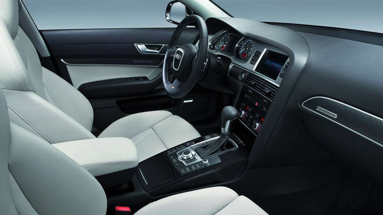 Audi S6 C6 интерьер