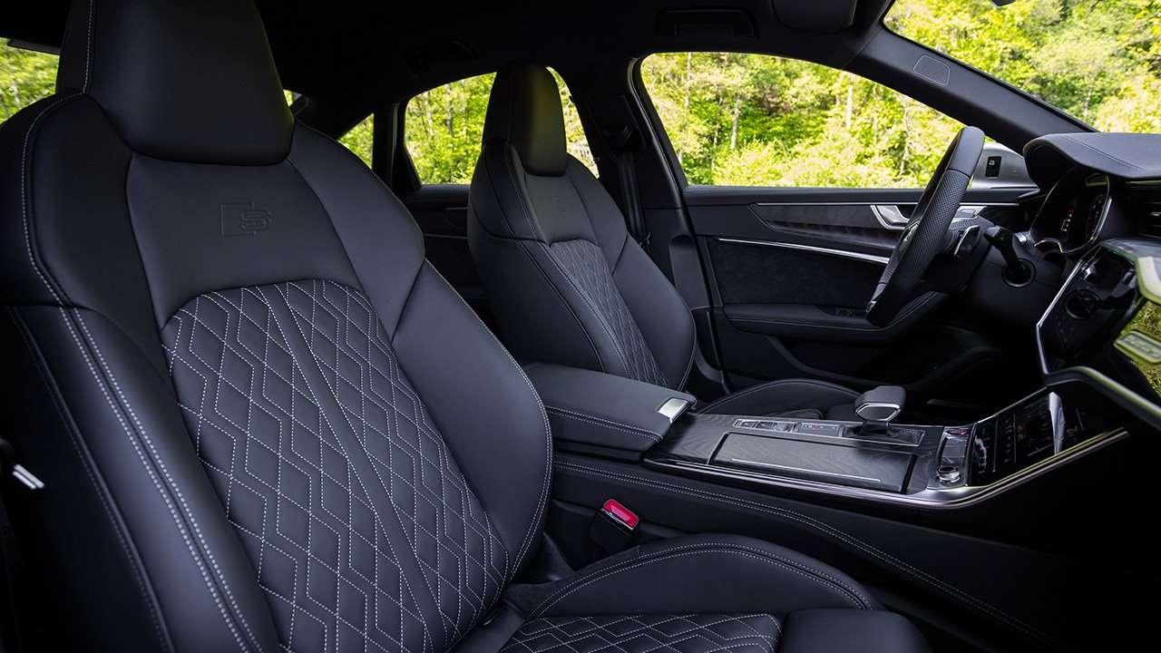 Передние сиденья новой S6