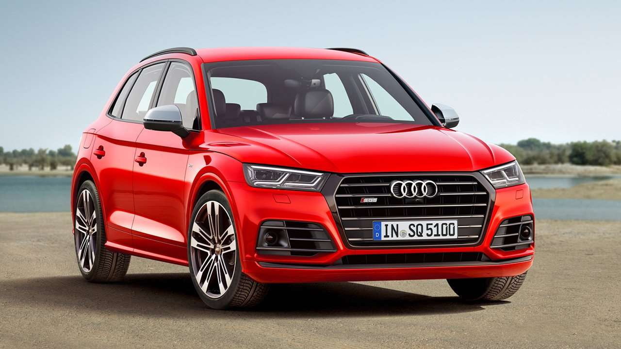 Audi SQ5 2020-2021 фото спереди