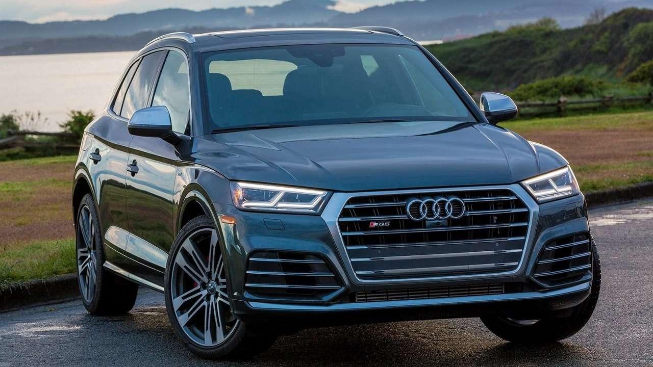 Передняя часть Audi SQ5 2020-2021