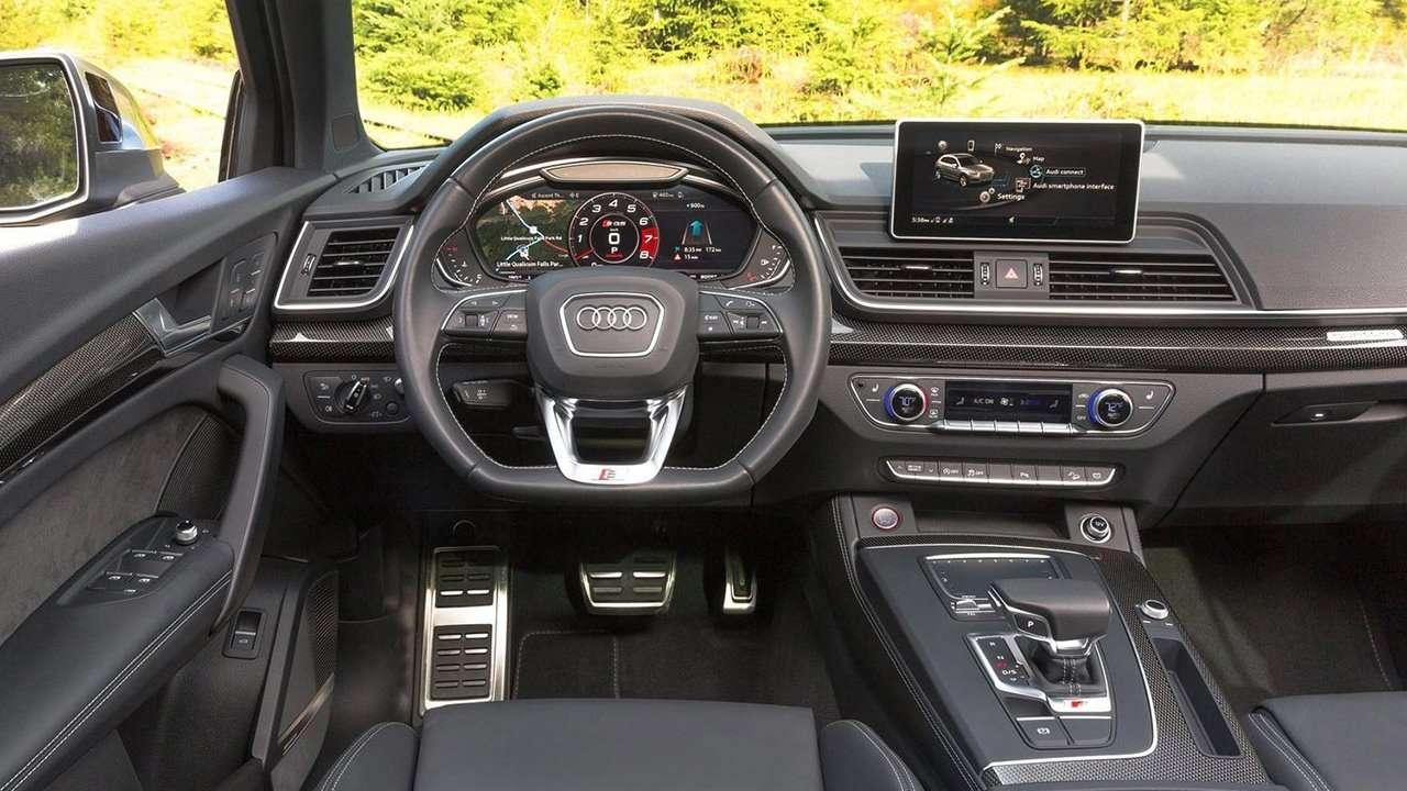 Салон Audi SQ5 2020-2021