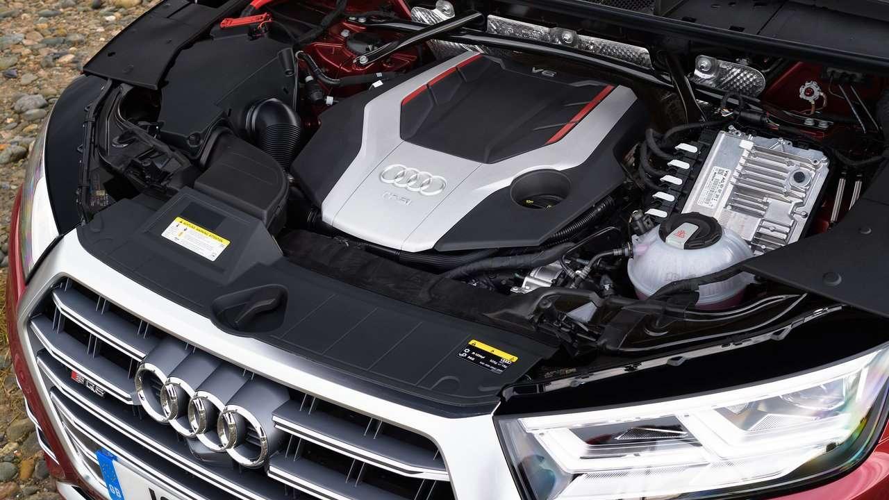 Фото двигателя Audi SQ5