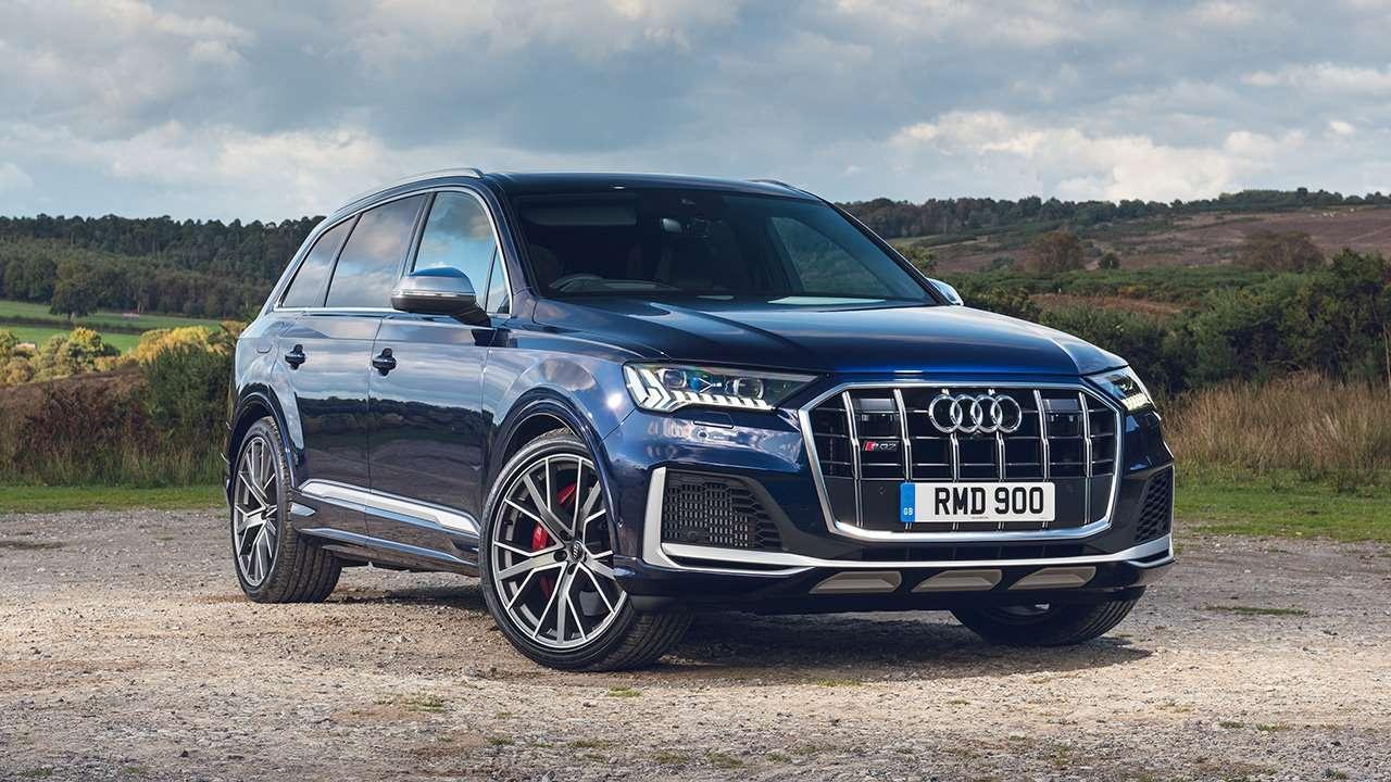 Audi SQ7 2020-2021 фото спереди