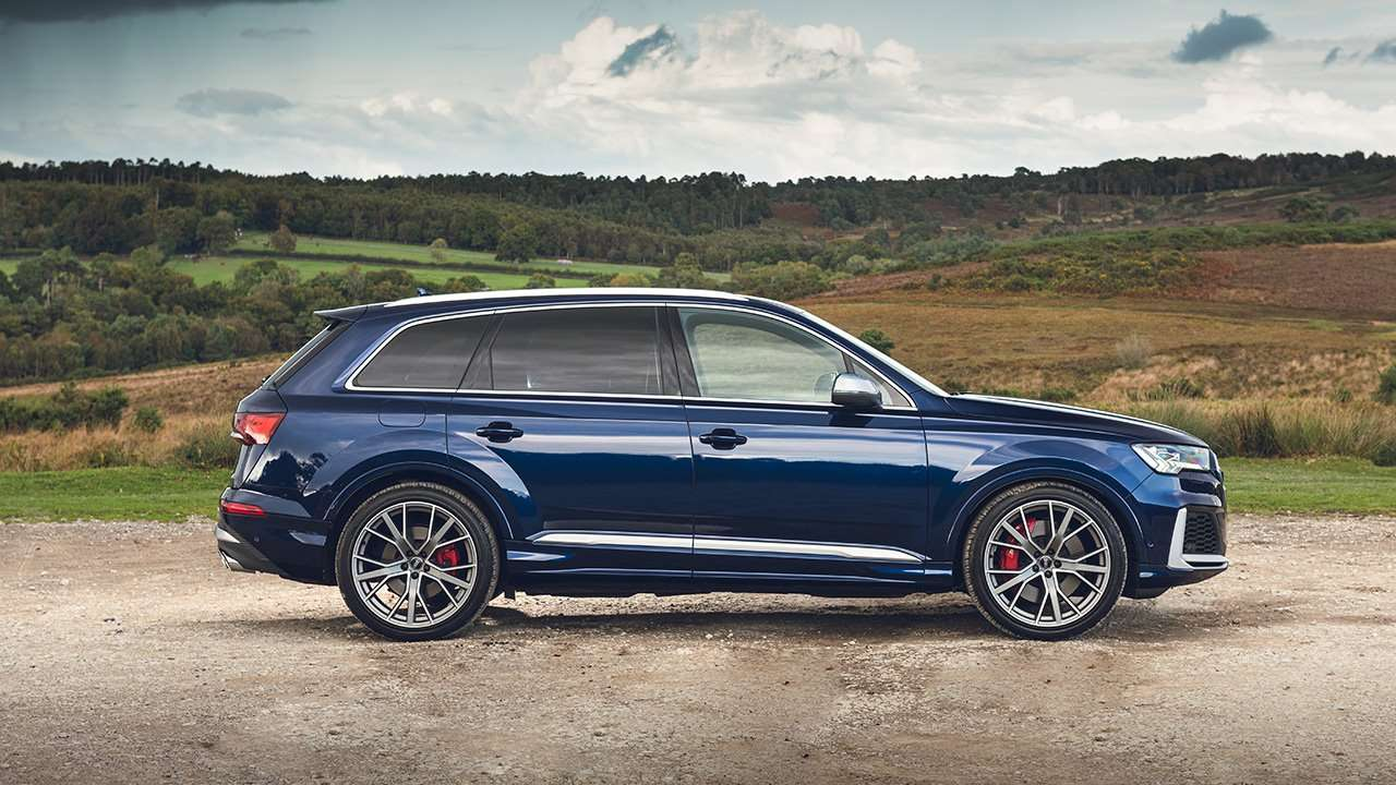 Фото Audi SQ7 2020-2021 сбоку