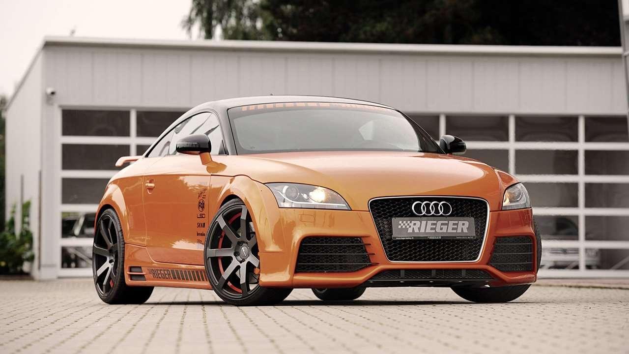 Audi TT 8J фото спереди