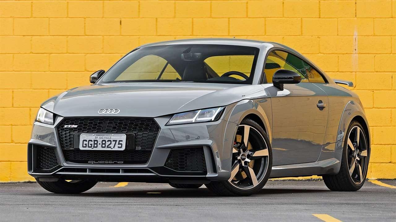 Передняя часть Audi TT RS 2020-2021 8S