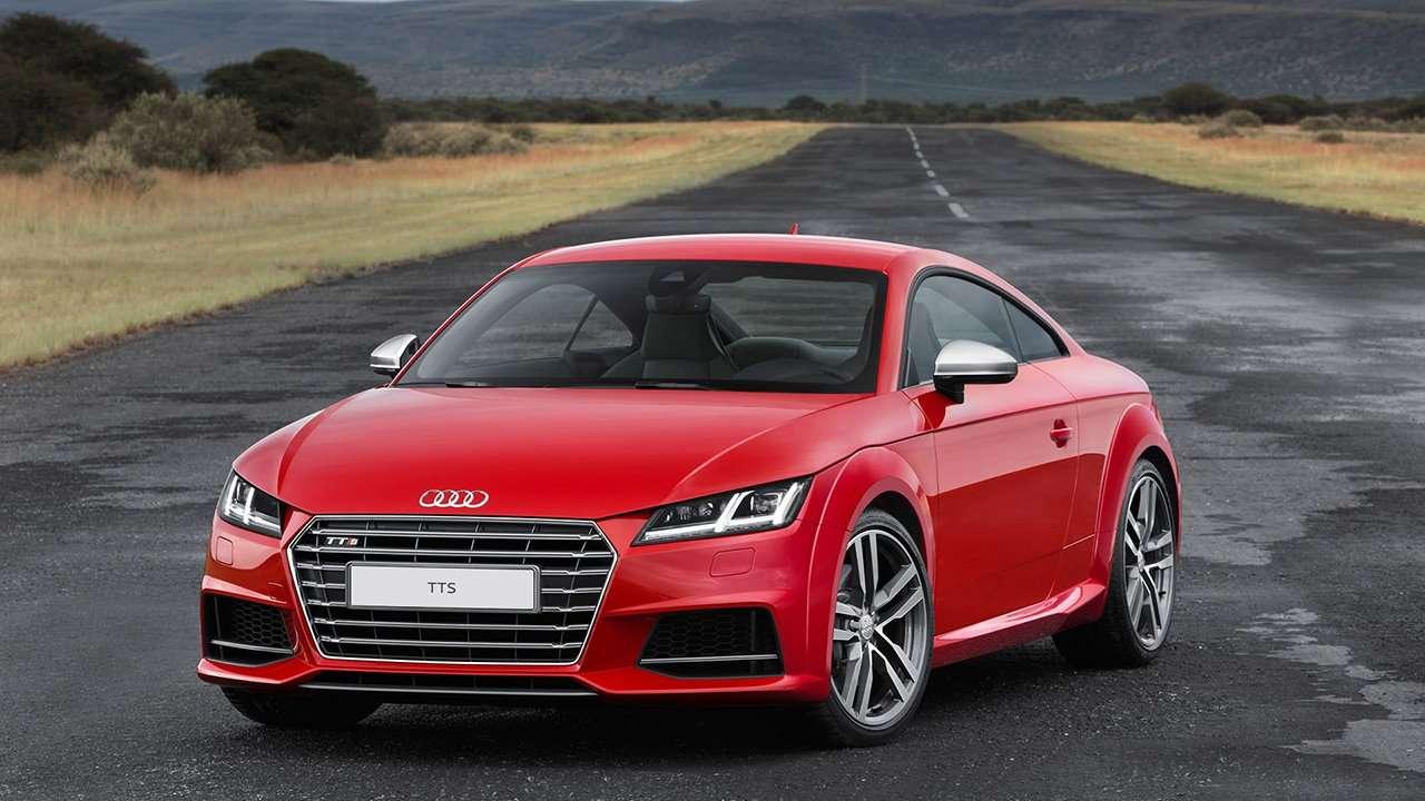 Audi TT 2020-2021 8S фото спереди