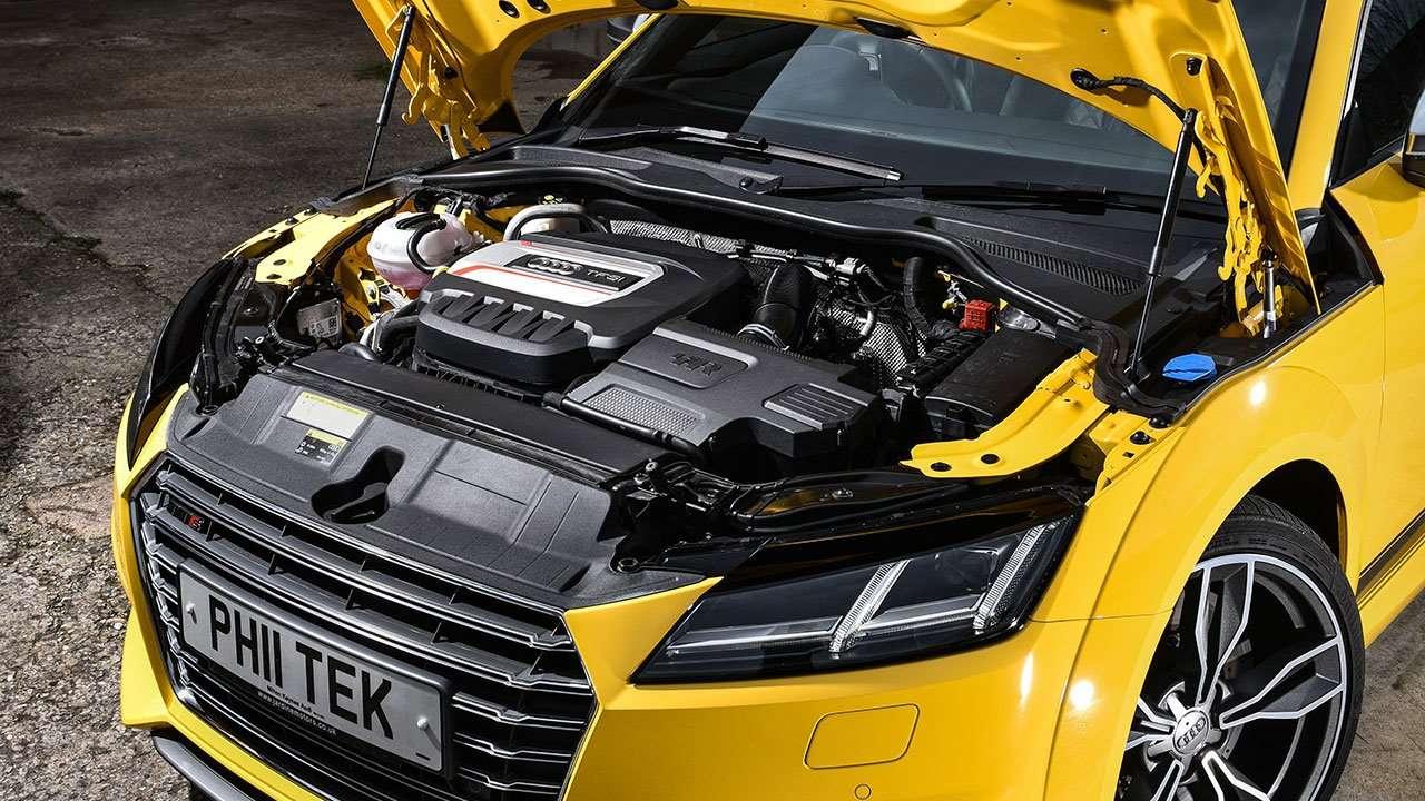 Двигатель нового Ауди TTS