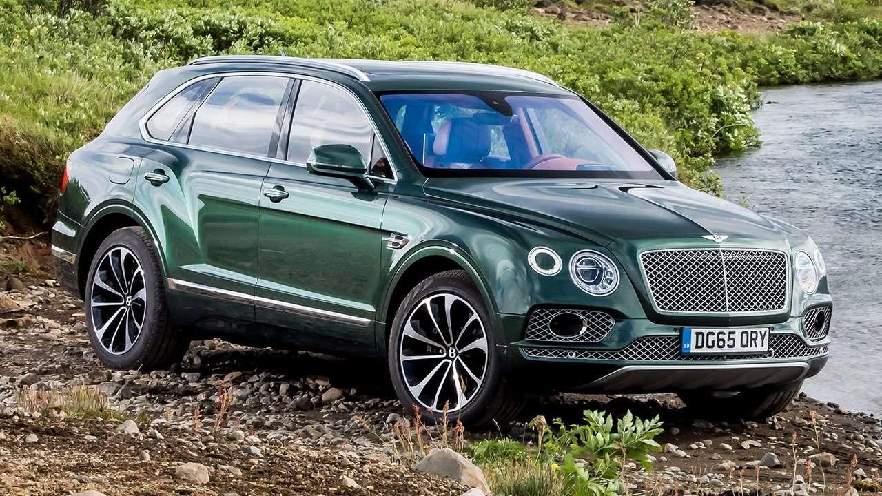 Bentley Bentayga 2020-2021 фото спереди
