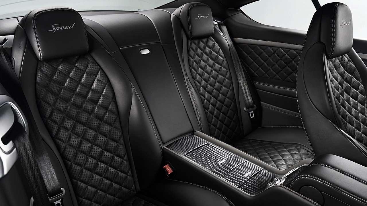 Bentley Continental GT 2011-2017 задний ряд
