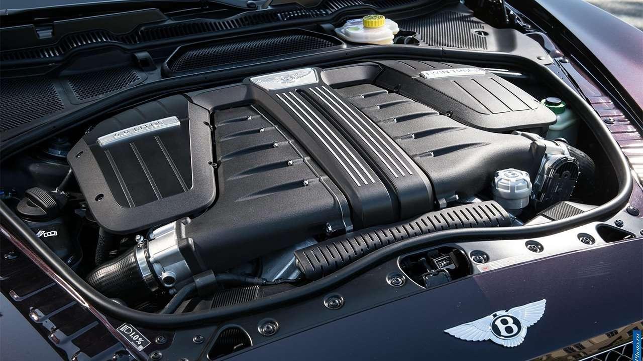 Фото двигателя Bentley Continental GT 2020-2021