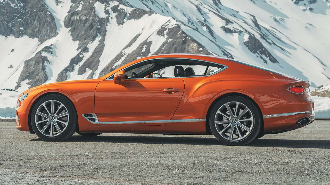 Оранжевый Continental GT