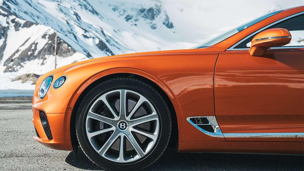 Колесные диски нового Continental GT