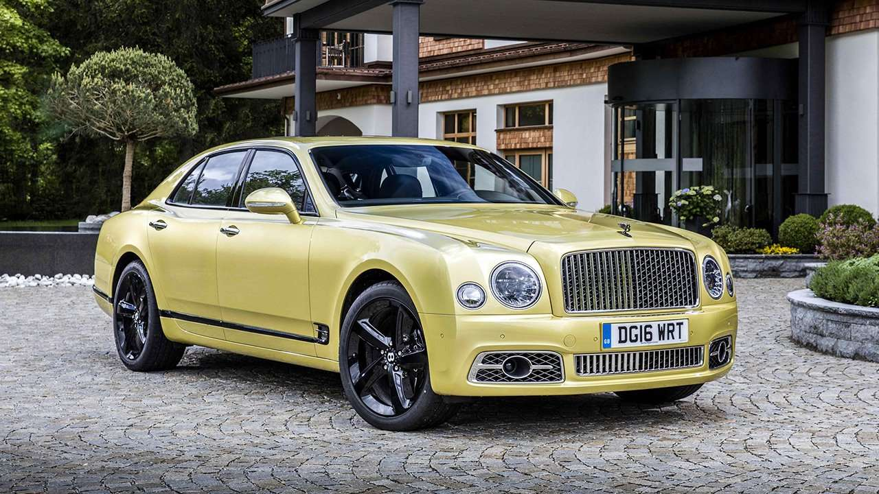 bentley mulsanne характеристики
