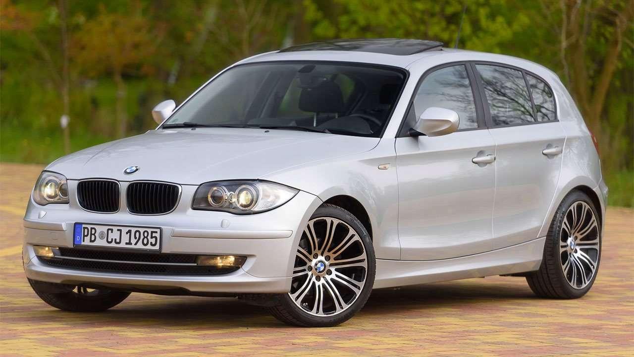 BMW 1-Series e87 фото спереди