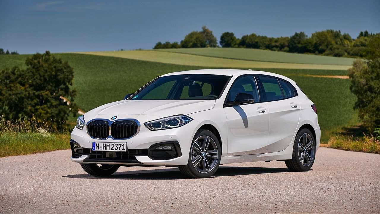 Передок BMW 1-Series Sportline