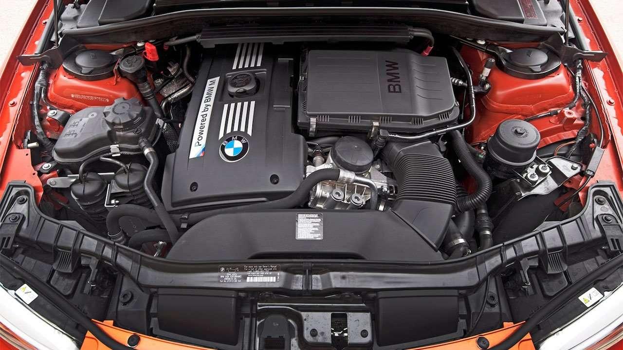 Двигатель БМВ 1M Coupe