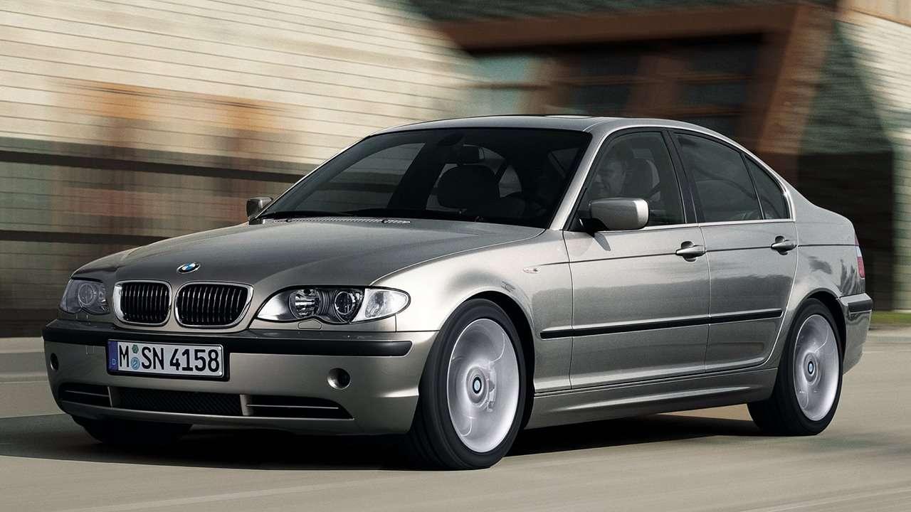 BMW 3-Series e46 фото спереди