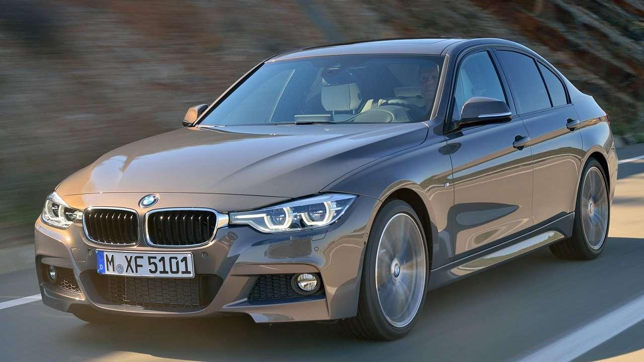 BMW 3-Series F30 фото спереди