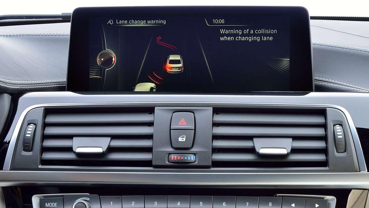 BMW 3-Series F30 система мультимедиа