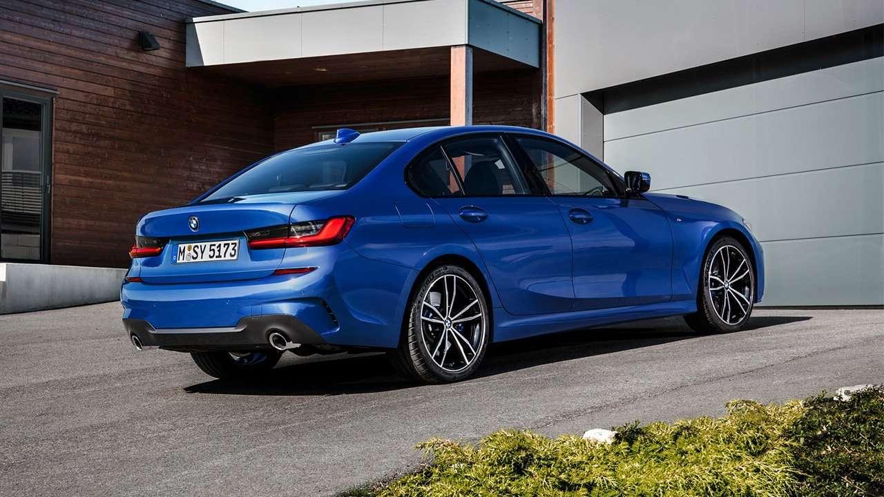 BMW 3-Series G20 фото сзади