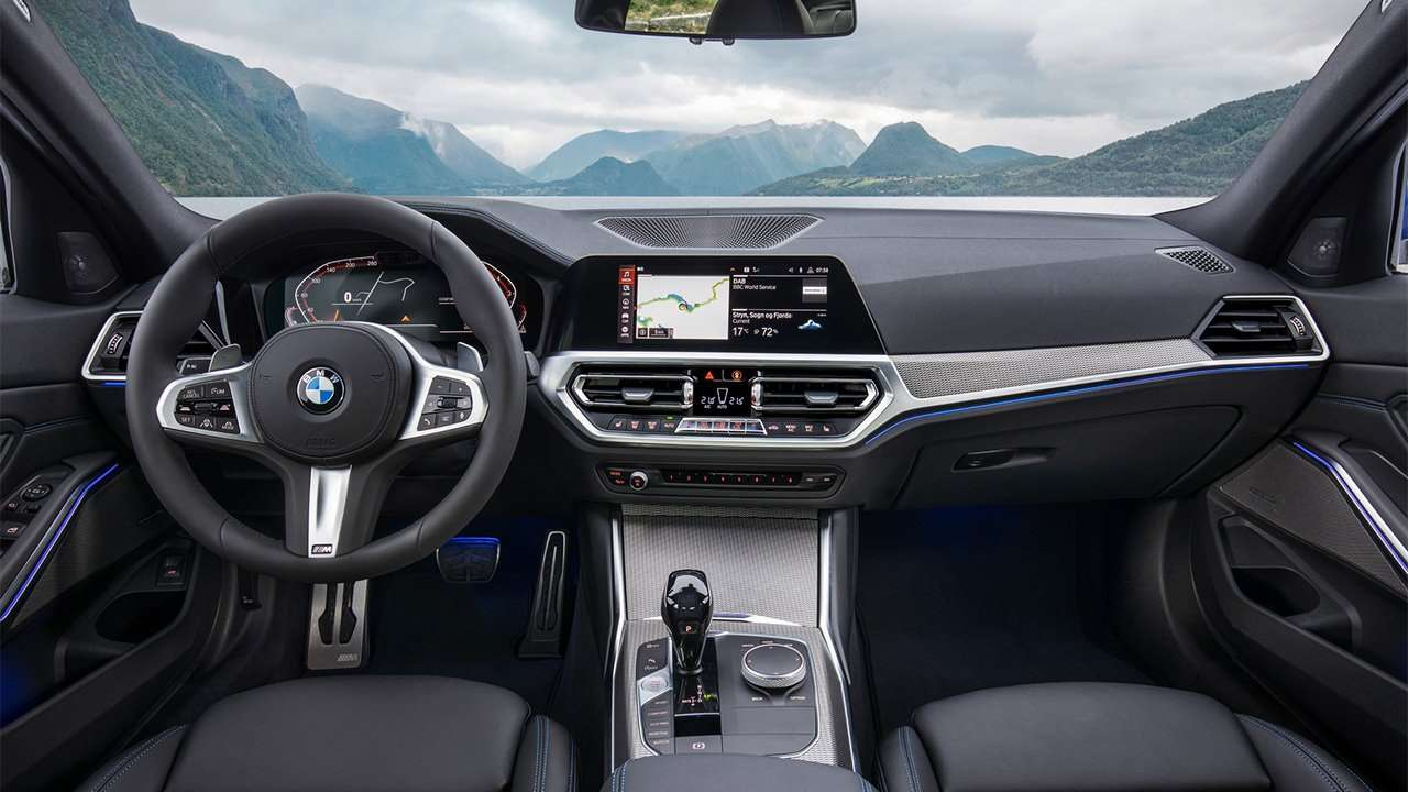 Фото салона BMW 3-Series G20 2020-2021