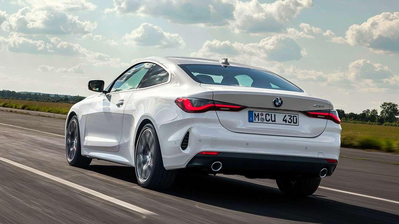 Фото BMW 4-Series 2020-20201 сзади