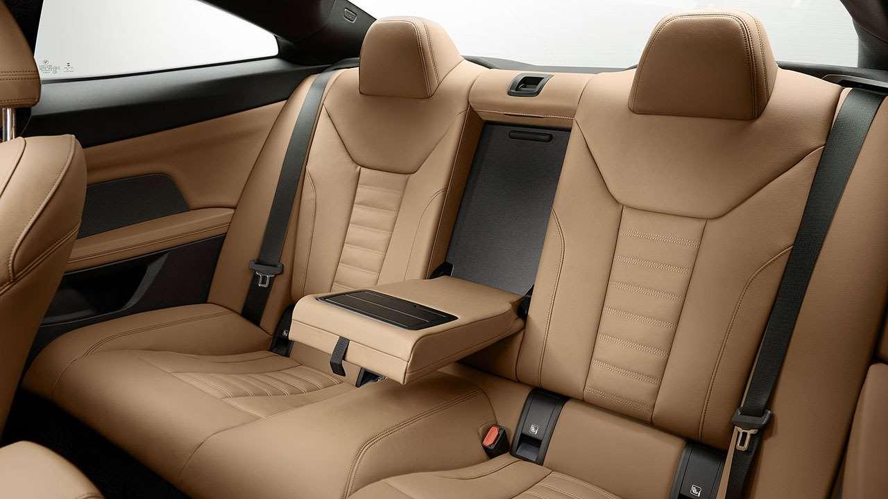 Задние сиденья BMW четверки