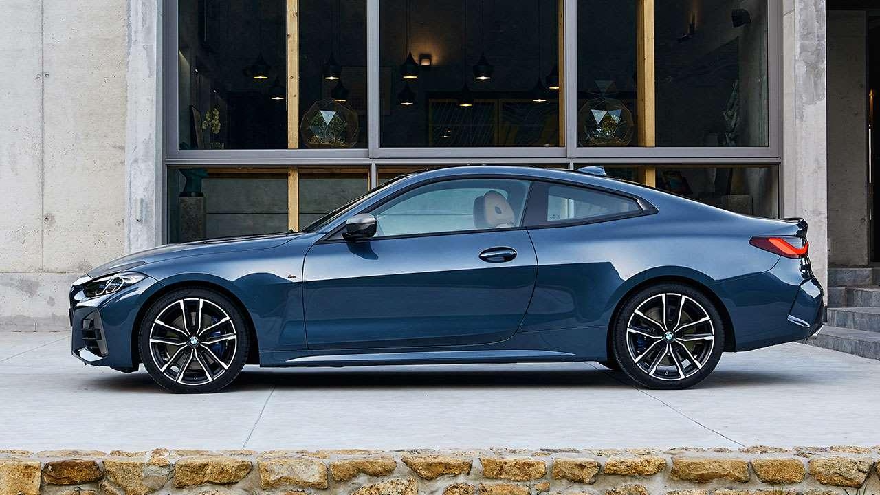 Боковая часть BMW 4-Series