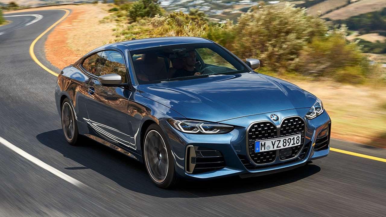 Новая BMW четверка 2020-2021 на трассе