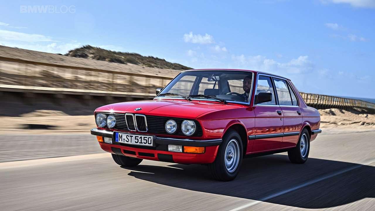 BMW 5-Series e28 фото спереди
