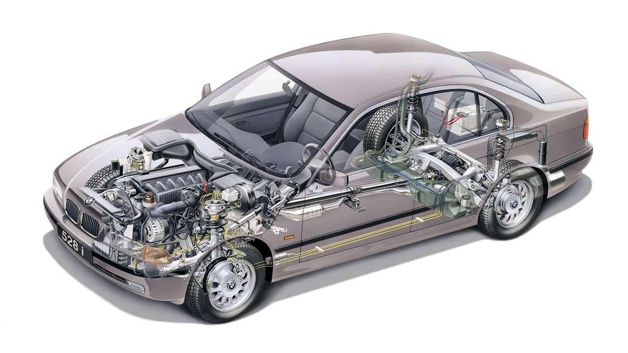 Техническая часть BMW 5-Серии е39